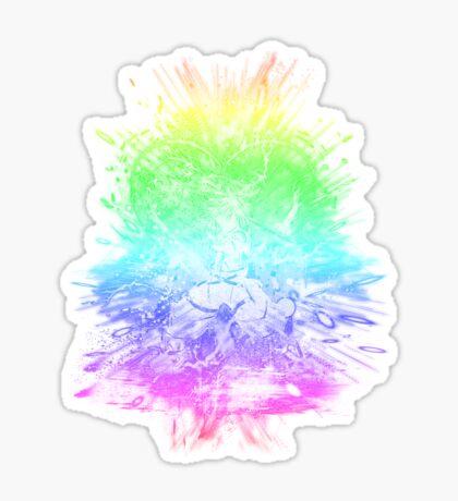 kingdom storm-rainbow version Sticker