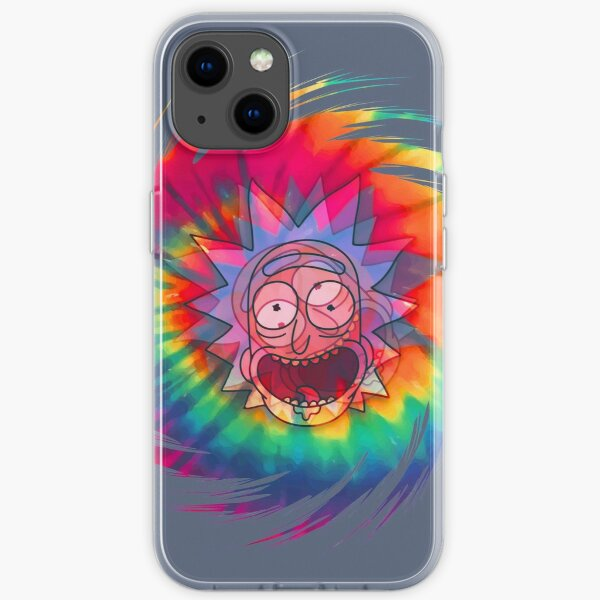 Spun - Out Hippie Rick ~ Music Festival - Rick and Morty™ iPhone Soft Case