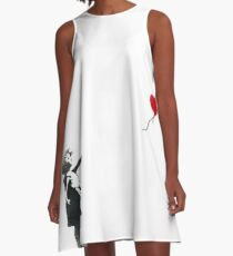 Banksy A-Line Dress