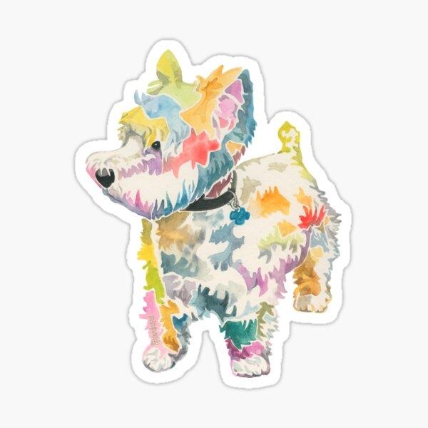 Riley (a dog of new york) Sticker