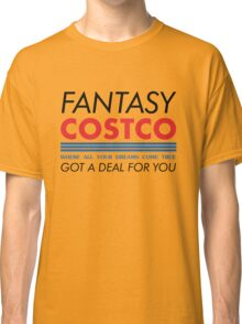 Fantasy Costco Typography Shirt Classic T-Shirt