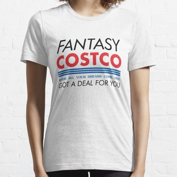 Fantasy Costco Typography Shirt Essential T-Shirt