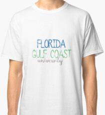Thin FGCU Sticker Classic T-Shirt