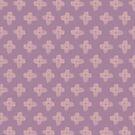 Daisy Cross Embroidery Brush Stroke in Pink by lollylocket