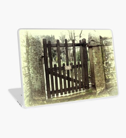 Side Gate Laptop Skin