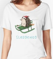 Sledgehog Women's Relaxed Fit T-Shirt