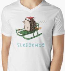Sledgehog Men's V-Neck T-Shirt