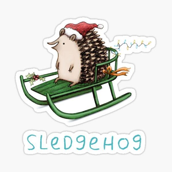 Sledgehog Sticker