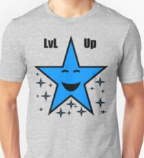Level Up Blue Star T-Shirt
