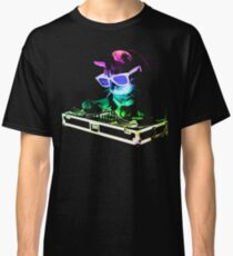 HOUSE CAT (Rainbow DJ Kitty) Classic T-Shirt