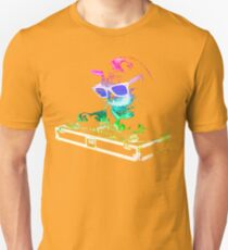 HOUSE CAT (Rainbow DJ Kitty) Unisex T-Shirt