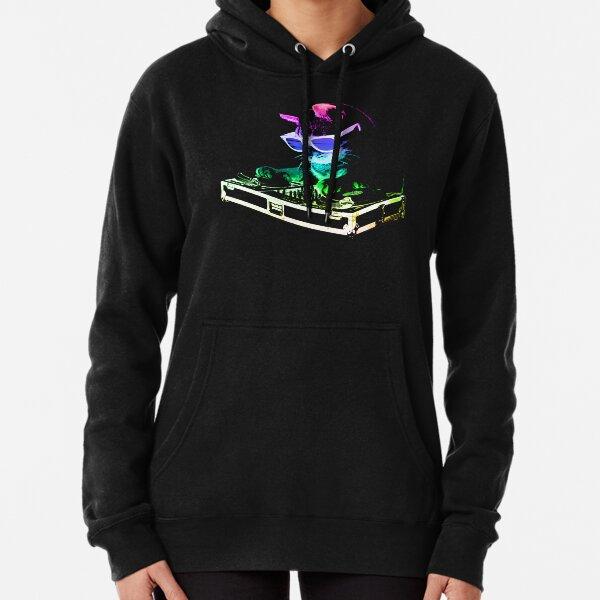 GATO DE CASA (Rainbow DJ Kitty) Sudadera con capucha