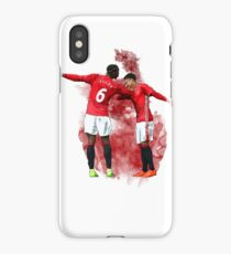 Pogba and Lingard DAB iPhone Case