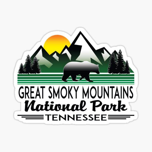 GREAT SMOKY MOUNTAINS NATIONAL PARK TENNESSEE NORTH CAROLINA GATLINBURG 4 Sticker