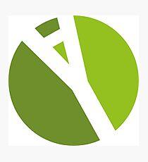 Logo 2 Photographic Print