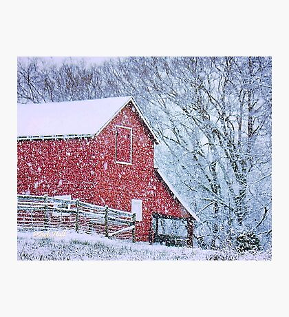 """""""Barn Bluster""""... prints and products Photographic Print"""