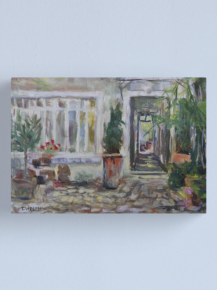 Alternate view of Double courtyard Rue Rodier Paris France Canvas Print