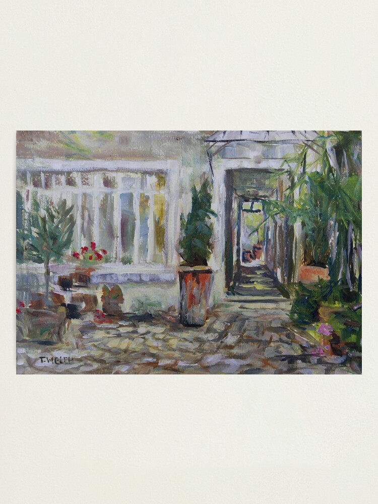 Alternate view of Double courtyard Rue Rodier Paris France Photographic Print