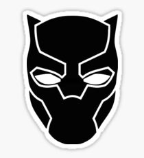 Black Panther Logo Sticker