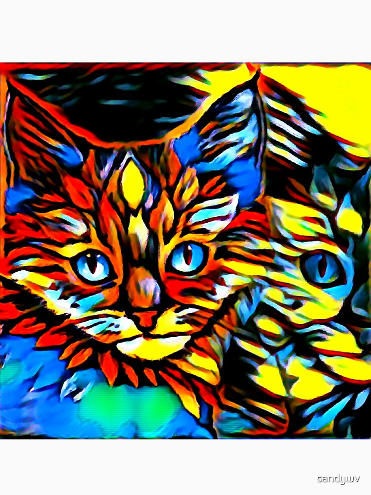 Painted Kittens by sandywv
