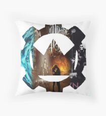 crown the empire fade Throw Pillow