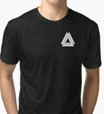 Bastille - Simple WWCOMMS Triangle Tri-blend T-Shirt