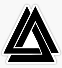 Bastille - Simple WWCOMMS Triangle Sticker