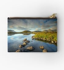 Scotland - Morning Light on Loch Ba Studio Pouch