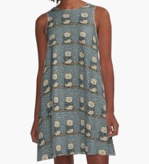 Chilly Owl A-Line Dress