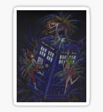 TARDIS 1 Sticker