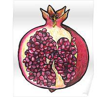 Quot Pomegranate Quot Stickers By Polaskus Redbubble