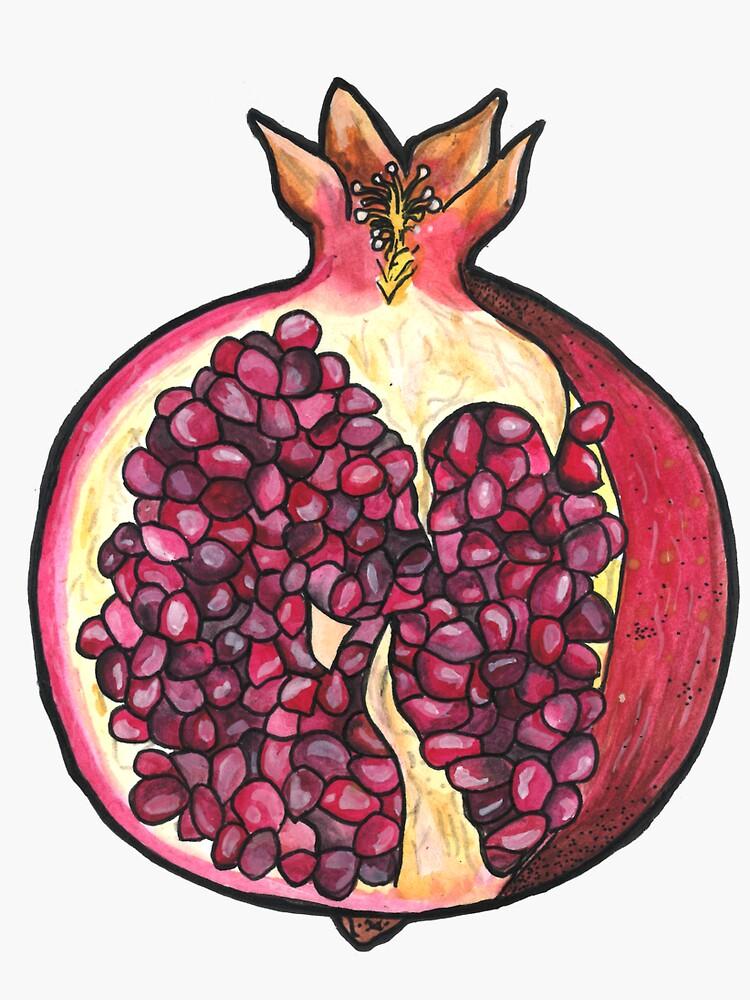 Pomegranate  by polaskus