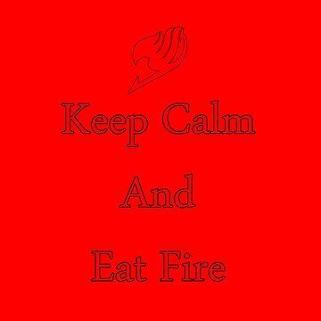Natsu Eat Fire by primeworks
