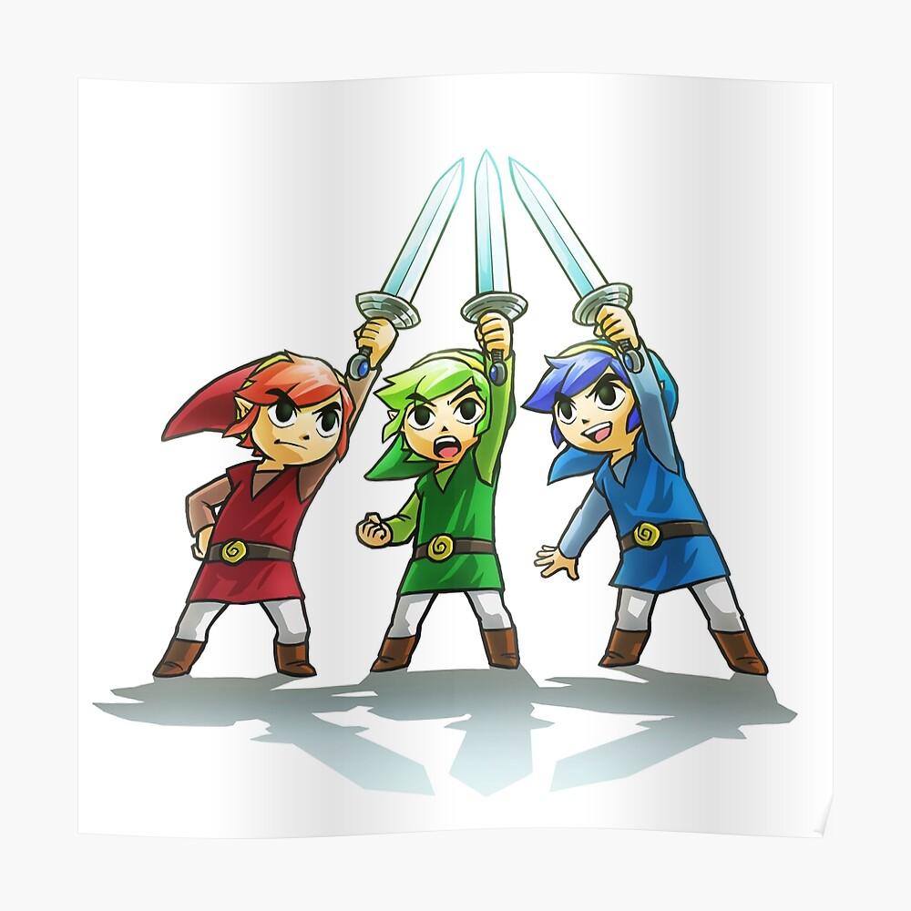 La leyenda de Zelda Póster