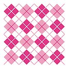 Pink Argyle Design by Lisann