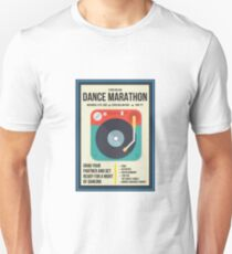 Starts Hollow Dance Marathon Event Poster T-Shirt