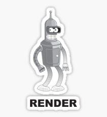 RENDER Sticker