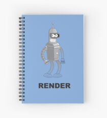 RENDER Spiral Notebook