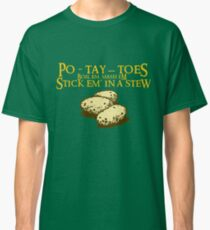 Po-tay-toes Classic T-Shirt