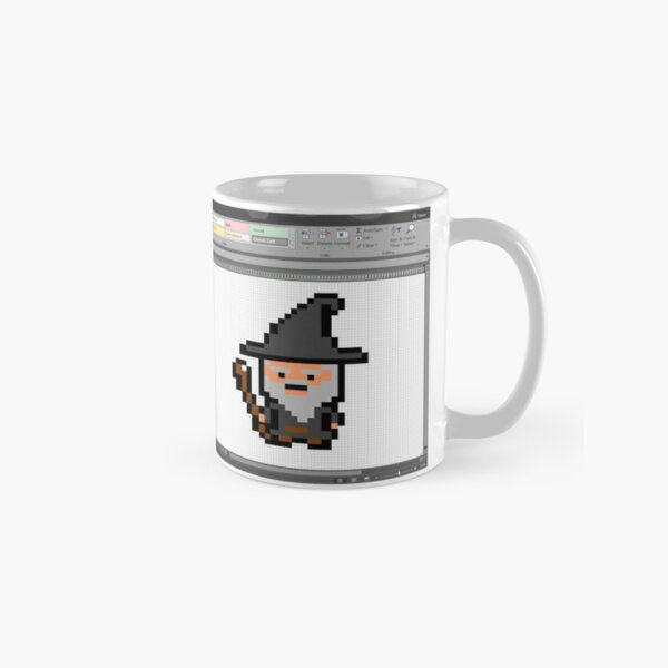 The Excel Spreadsheet Wizard Classic Mug