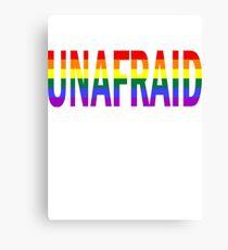 Unafraid Canvas Print
