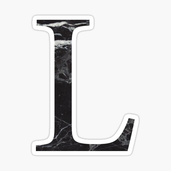 black marble L  Sticker