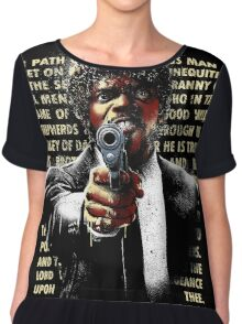 The Path of Righteous Man Chiffon Top