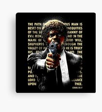 The Path of Righteous Man Canvas Print
