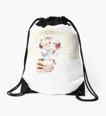 The Path of Righteous Man Drawstring Bag