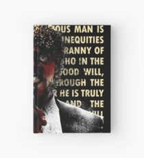 The Path of Righteous Man Hardcover Journal