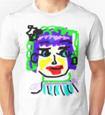 Doodle Face #1 Unisex T-Shirt