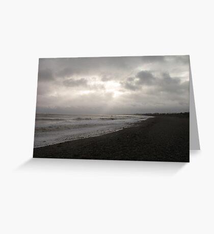 Gleam of sunlight Greeting Card