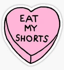 Eat My Shorts Sticker