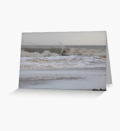 Rolling Tide Greeting Card